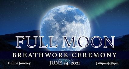 *Virtual* Full Moon Breathwork Ceremony tickets