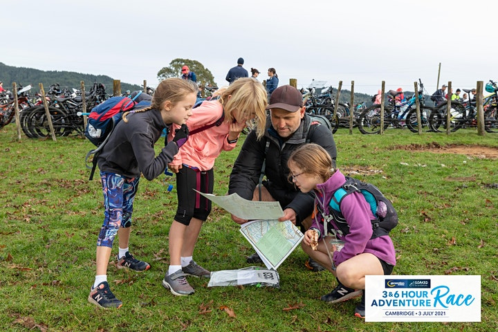 Generation Homes Soaked in Adventure 3 & 6 Hour Adventure Race, Cambridge image