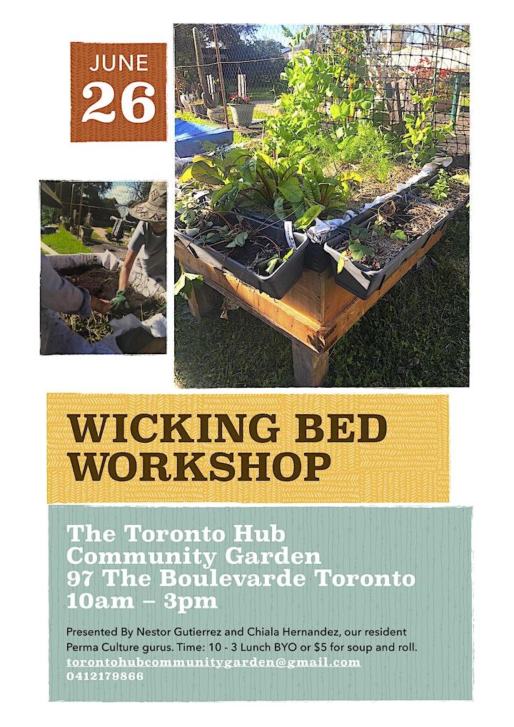 Free Wicking Bed Workshop image