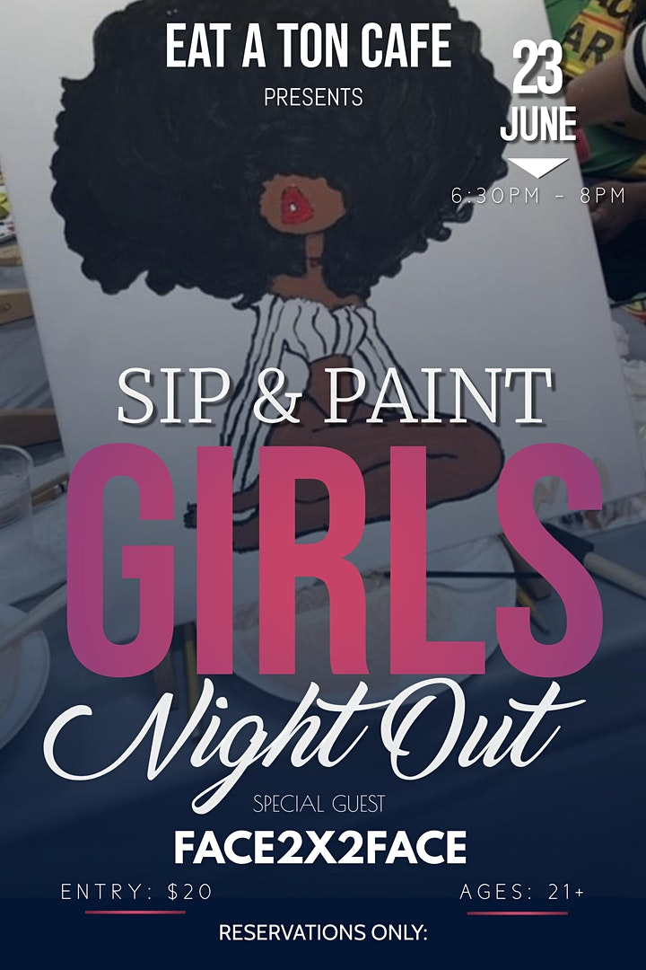GIRLS NIGHT OUT SIP & PAINT image
