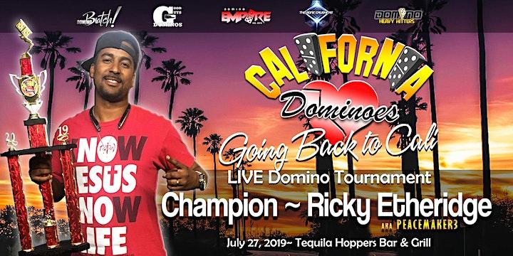 I LOVE CALIFORNIA Live Domino Tournament image