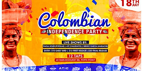 COLOMBIAN INDEPENDENCE PARTY tickets