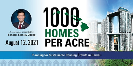1,000 Homes Per Acre: Planning for Sustainable Housing Growth in Hawaii biglietti