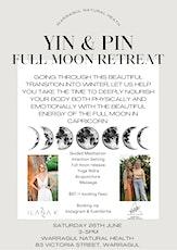 Yin & Pin Full Moon Retreat tickets