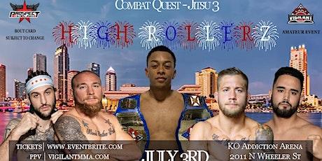 Combat Quest Jitsu 3 tickets