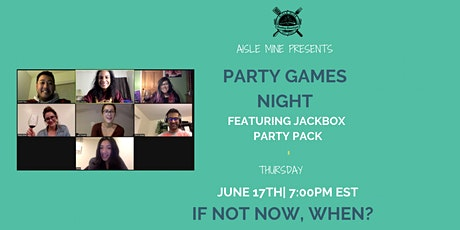 June - Party Games Night tickets