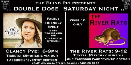 Clancy Pye - Live & Local @ the Blind Pig Orange tickets
