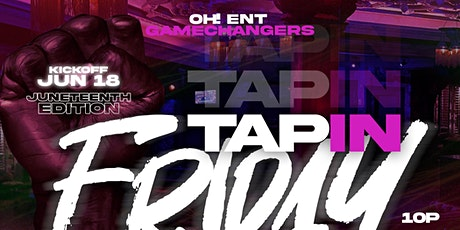 Tap In FridayJuneteenth Edition at the Foundation Room Dallas tickets