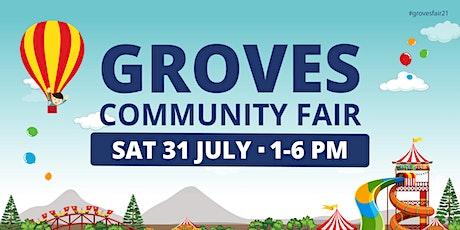2021 Groves Community Fair  Pre-purchase Armband tickets