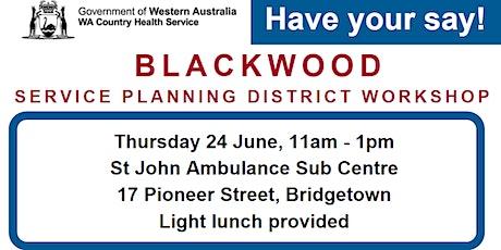 Blackwood Service Planning District Workshop tickets