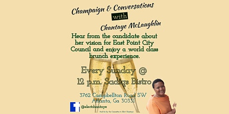 Champagne & Conversations tickets