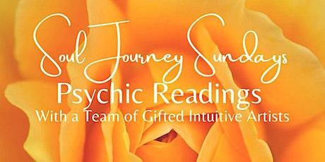 Soul Journey Sundays - Psychic Readings 4:30pm PDT / 7:30pm EDT tickets