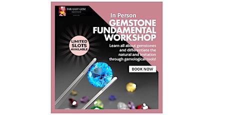 26 June Gemstone Fundamental  Workshop tickets