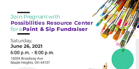 Paint and Sip Fundraiser tickets