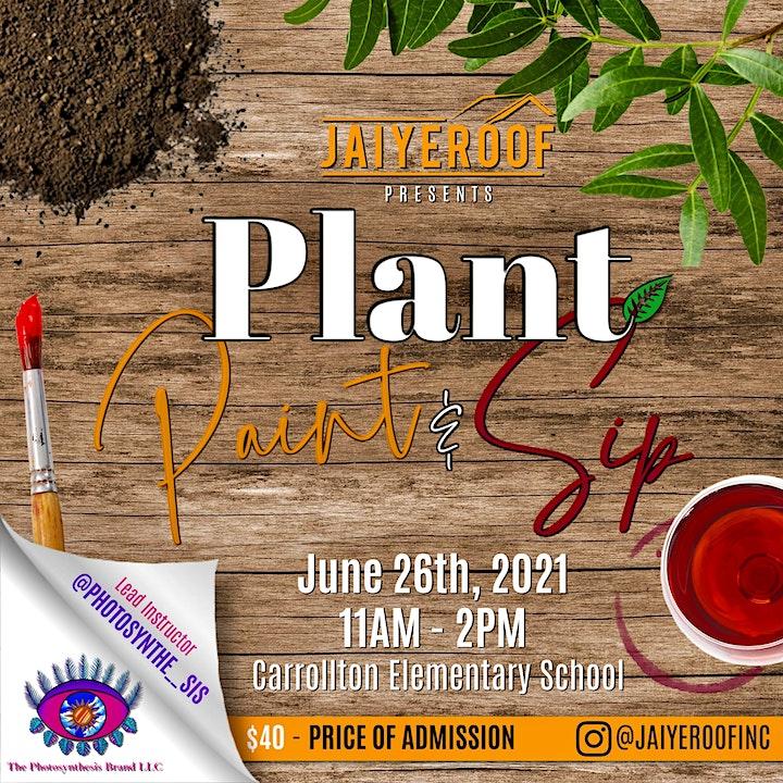 Plant, Paint, & Sip image