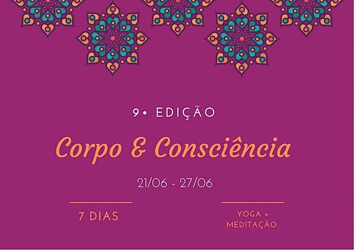 Imagem do evento Corpo&Consciência - 7 Dias -9ª Edição