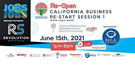 California Business Re-Start Session 1 tickets