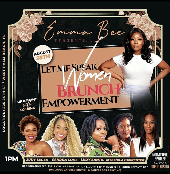 Let Me Speak Women Brunch Empowerment image