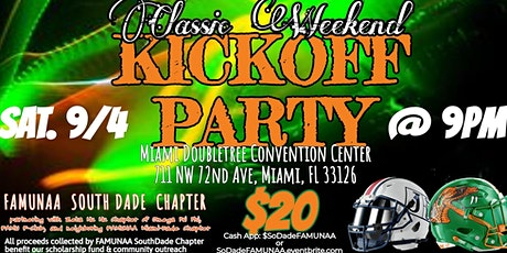 Classic Weekend Kickoff Party with FAMUNAA South Dade Chapter tickets