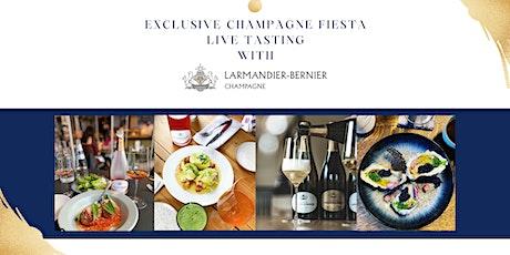 Champagne Larmandier Live Tasting biglietti