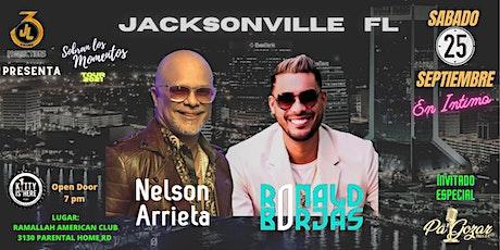 SOBRAN LOS MOMENTOS TOUR 2021  En Intimo  Ronald Borjas y Nelson Arrieta tickets