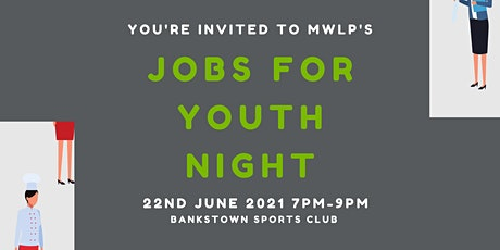 Jobs For Youth - Apprenticeship and Traineeship Information Night #2 tickets