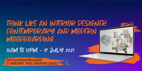 Design Inspiration: Interior Design Workshop 2021 tickets