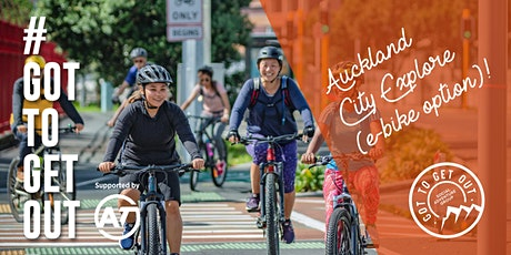 Auckland City Explore - E bike - with AT! tickets