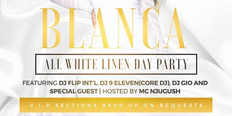 AfroX, All White linen Day Party tickets