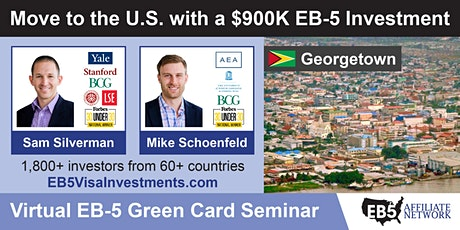 U.S. Green Card Virtual Seminar – Georgetown, Guyana tickets