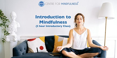 Introduction to Mindfulness (Online - 2 hour class) tickets