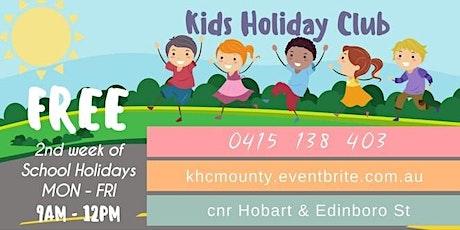 Kids Holiday Club 2021 tickets