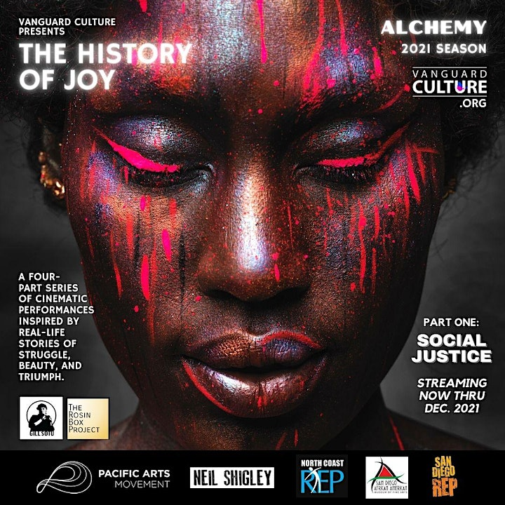 """Streaming of """"The History of Joy - Social Justice image"""