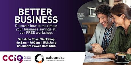Better Business - Sunshine Coast tickets