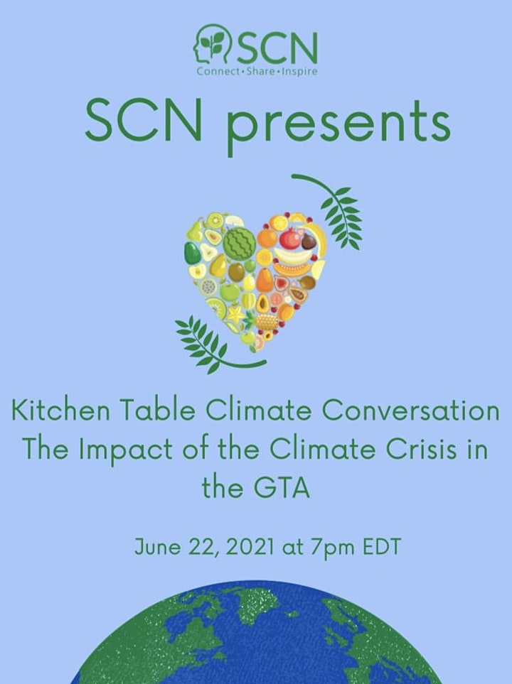 Kitchen Table Climate Conversation: The Impact of the Climate Crisis in GTA image