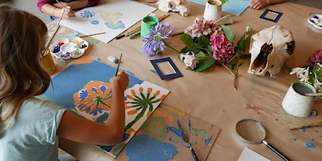 SCHOOL HOLIDAYS FOR KIDS - GLOW IN THE DARK PAINTING tickets
