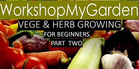 Vegetable & Herb Growing for Beginners -  Part Two tickets