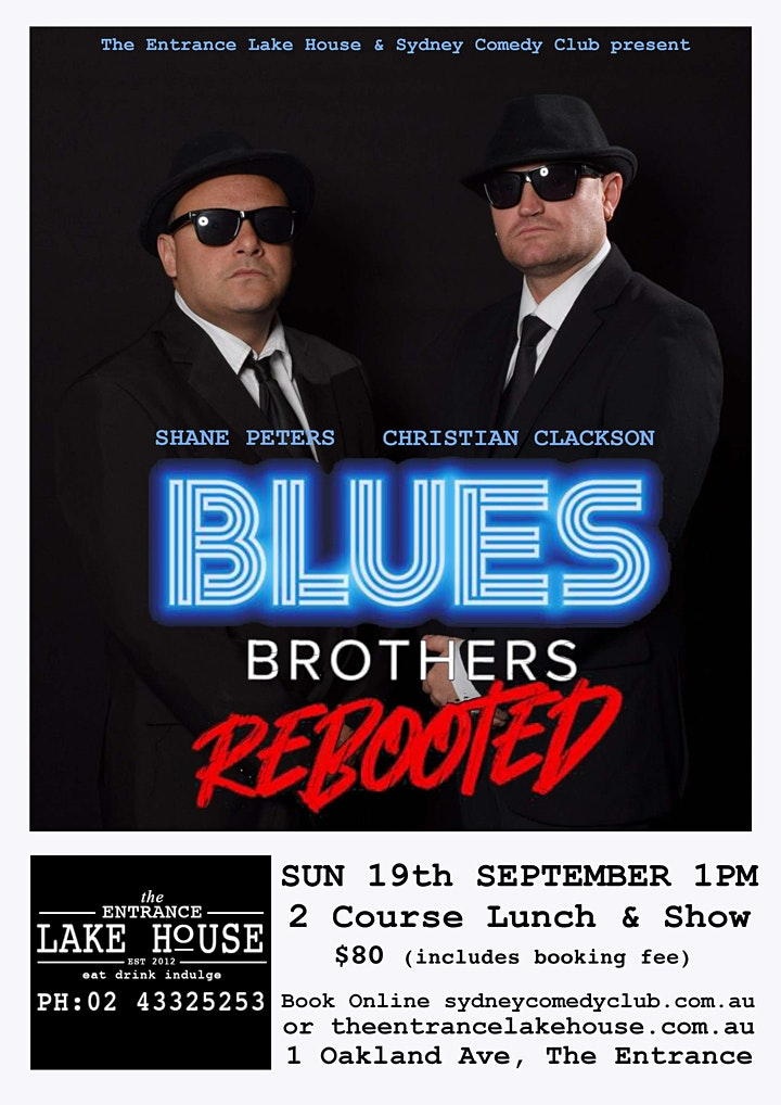 The Blues Brothers Rebooted image