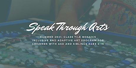 Speak Through Art: Glass Tile Mosaics tickets