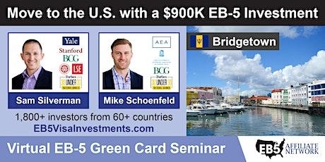 U.S. Green Card Virtual Seminar – Bridgetown, Barbados tickets