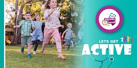 Let's Get Active - Telethon Kids July School Holiday Workshops tickets