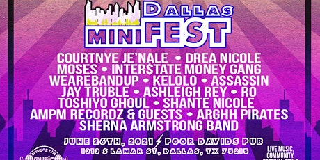 The Sherna Armstrong Band Headlines the Dallas miniFEST (6/26/21) tickets