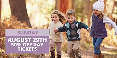 JBF San Mateo Fall 2021 - Sunday, AUG 29 (50% off Day) tickets