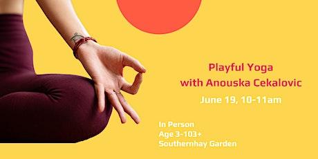 Playful Yoga with Anouska Cekalovic tickets