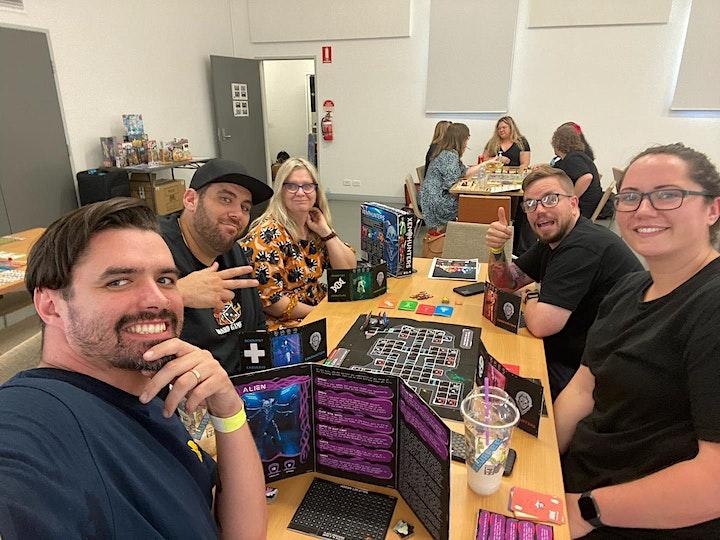 Black Lab Coffee Board Game Day image