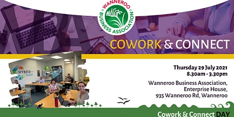 Co - Work & Connect tickets