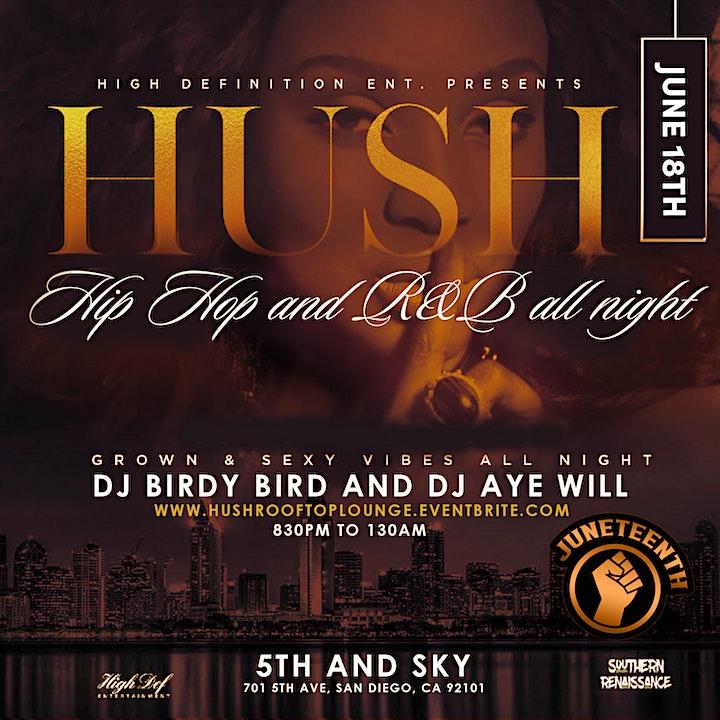 HUSH: Rooftop Lounge image