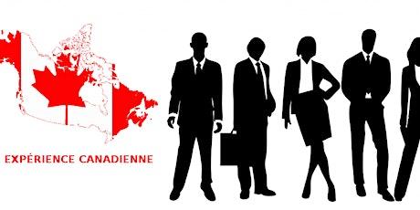 Atelier En Ligne : Comprendre et gérer l'expérience canadienne billets