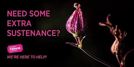 Fringe Masterclass #5 Grow It! : Developing Rewarding & Fulfilling Practice tickets