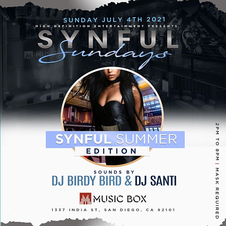 Synful Sundayz Day Party.... Synful Summer Edition image